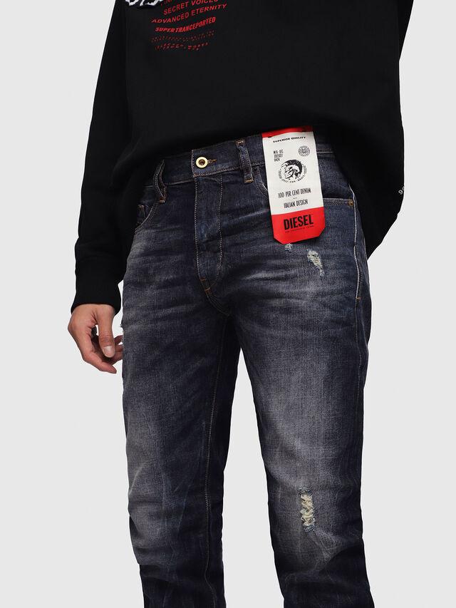Diesel - D-Strukt 089AL, Dark Blue - Jeans - Image 4
