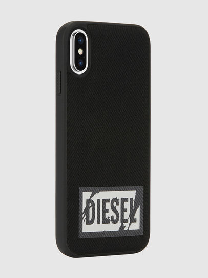 Diesel - BLACK DENIM IPHONE X CASE,  - Cases - Image 6