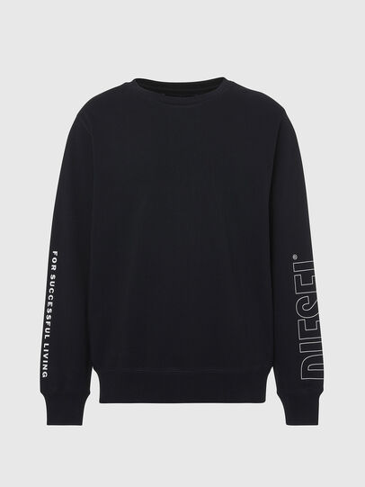 Diesel - UMLT-WILLY, Black - Sweaters - Image 1
