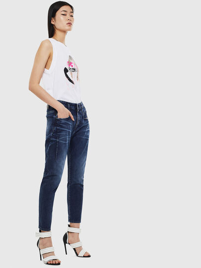 Diesel - Fayza 009BY, Dark Blue - Jeans - Image 6