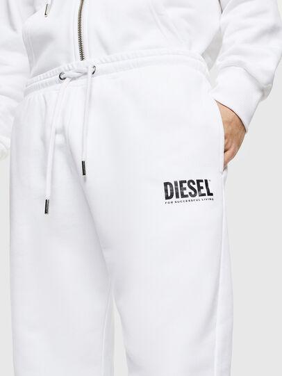 Diesel - P-TARY-LOGO, White - Pants - Image 3