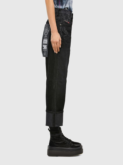 Diesel - D-Reggy 009LC, Black/Dark grey - Jeans - Image 3