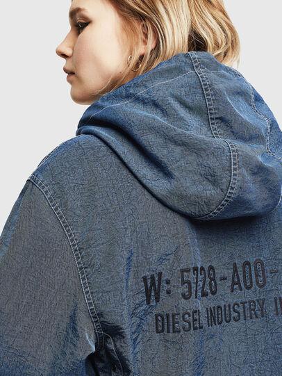 Diesel - J-HEADIN, Blue - Jackets - Image 6