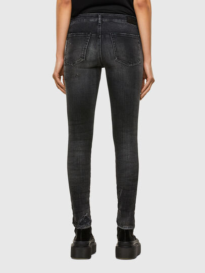 Diesel - D-Jevel 009JN, Black/Dark grey - Jeans - Image 2