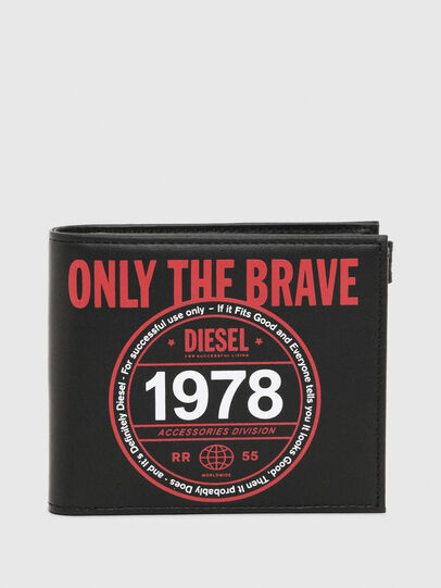 Diesel - HIRESH S MC, Black/Red - Small Wallets - Image 1