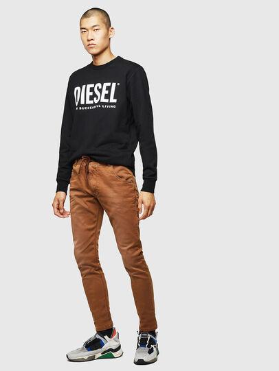Diesel - Krooley JoggJeans 0670M, Brown - Jeans - Image 5