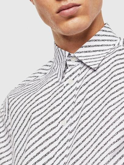 Diesel - S-PENN-COPY, White - Shirts - Image 3
