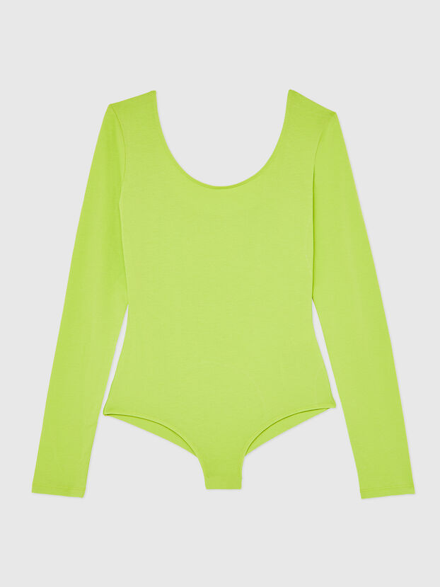 UFBY-BODY-LS, Yellow Fluo - Bodysuits