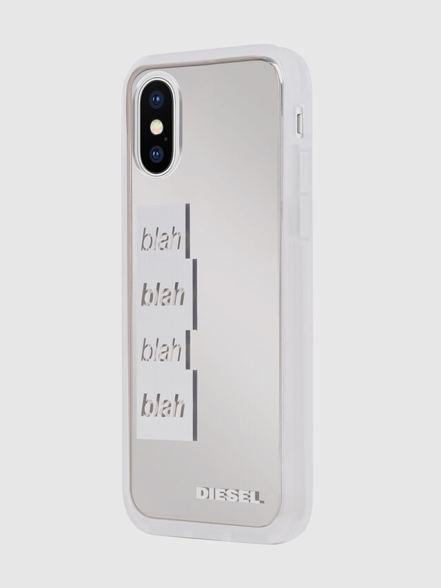 Diesel - BLAH BLAH BLAH IPHONE X CASE, White - Cases - Image 6