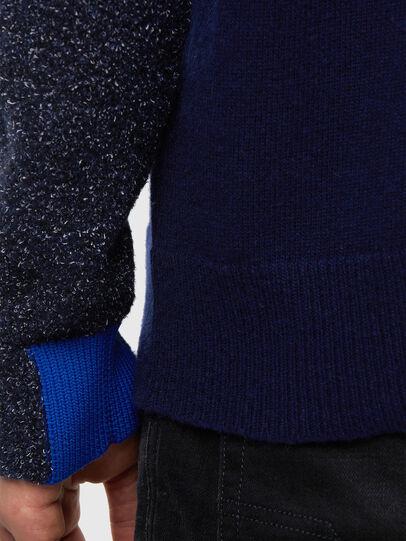 Diesel - K-MEL, Dark Blue - Knitwear - Image 4