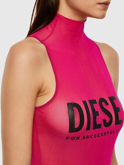 Diesel - UFBY-HEVA-M, Pink Fluo - Bodysuits - Image 3