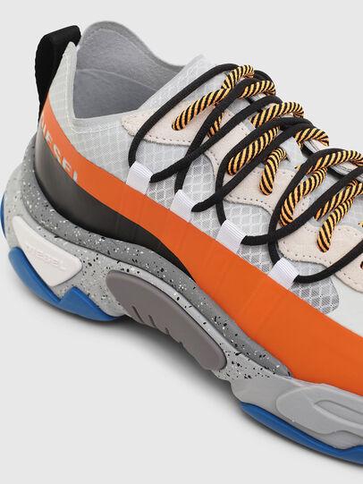 Diesel - S-KIPPER BAND, White/Orange - Sneakers - Image 5