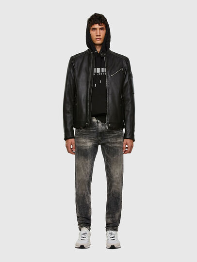 Diesel - L-CASE-KA, Black - Leather jackets - Image 6