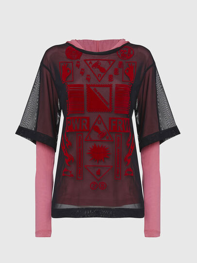 Diesel - T-LAYER, Pink - Tops - Image 1