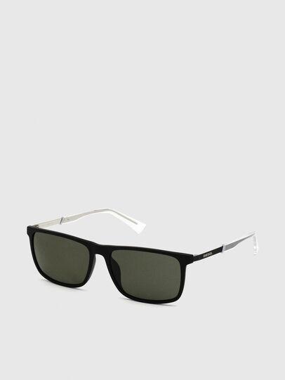 Diesel - DL0312, Black - Sunglasses - Image 2