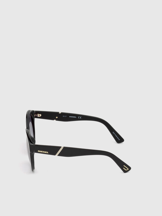 Diesel - DL0252, Black - Sunglasses - Image 3