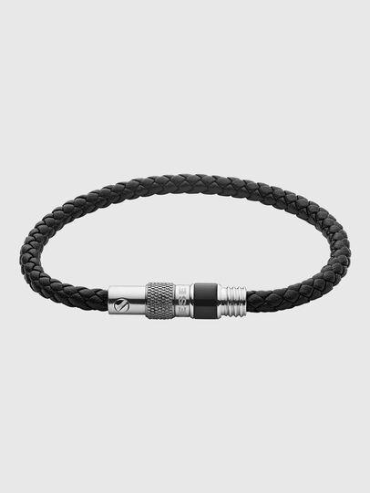 Diesel - DX1222, Black/Silver - Bracelets - Image 1