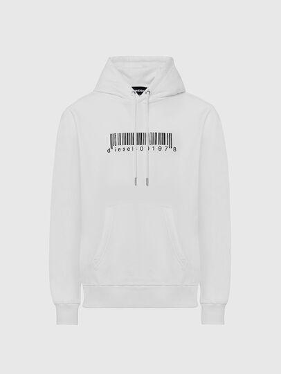 Diesel - S-GIRK-HOOD-X2, White - Sweaters - Image 1