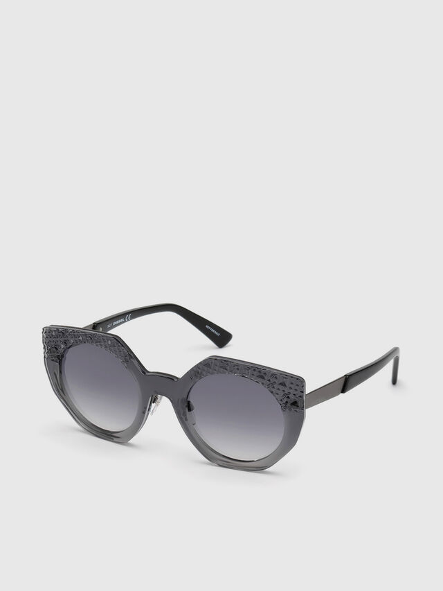 Diesel - DL0258, Grey - Sunglasses - Image 4