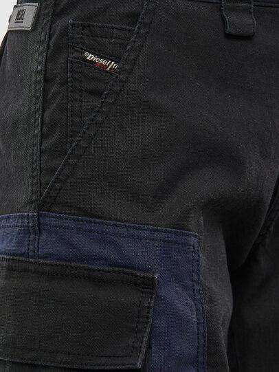 Diesel - D-Kiki JoggJeans® 009KM, Black/Dark grey - Jeans - Image 5