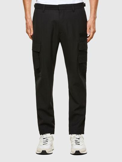 Diesel - P-HOMEN, Black - Pants - Image 1