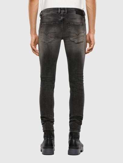 Diesel - Sleenker 009JF, Black/Dark grey - Jeans - Image 2