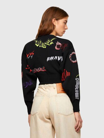 Diesel - M-MALI, Black - Knitwear - Image 2