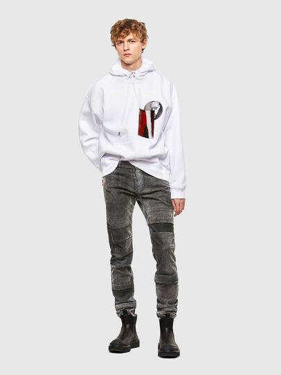 Diesel - S-HENON, White - Sweaters - Image 5