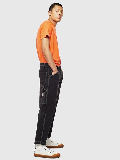 Diesel - T-THURE, Orange - T-Shirts - Image 6