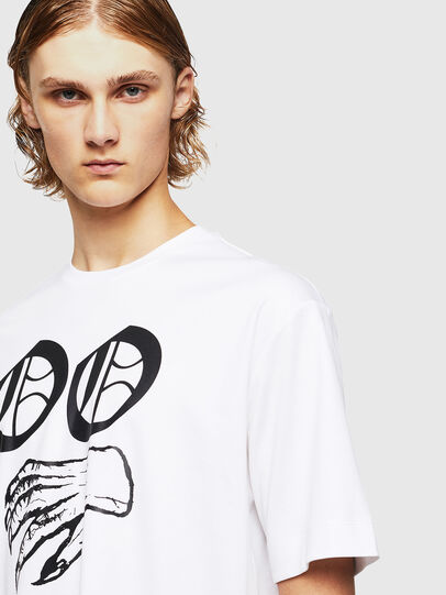 Diesel - TEORIALE-X2, White - T-Shirts - Image 4