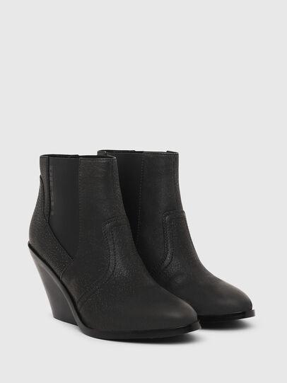 Diesel - D-FLAMINGO CB, Black - Ankle Boots - Image 2