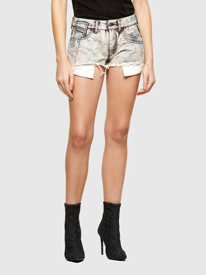 Diesel - DE-BATY-SP, Grey - Shorts - Image 1