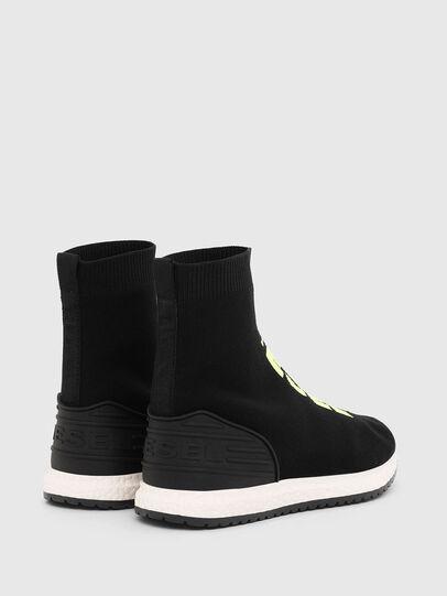 Diesel - SLIP ON 04 MID SOCK, Black - Footwear - Image 3