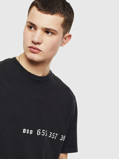 Diesel - T-JUST-T12, Black - T-Shirts - Image 3