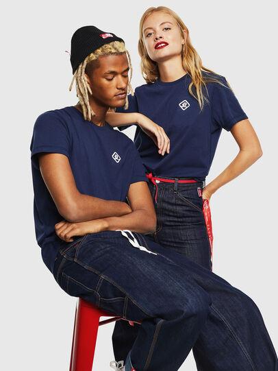 Diesel - CC-T-DIEGO-COLA, Dark Blue - T-Shirts - Image 7