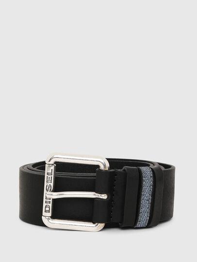Diesel - B-DENOOP, Black - Belts - Image 1