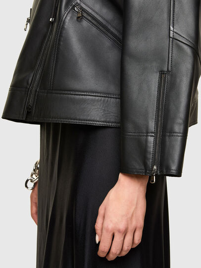 Diesel - L-HAZEL,  - Leather jackets - Image 5