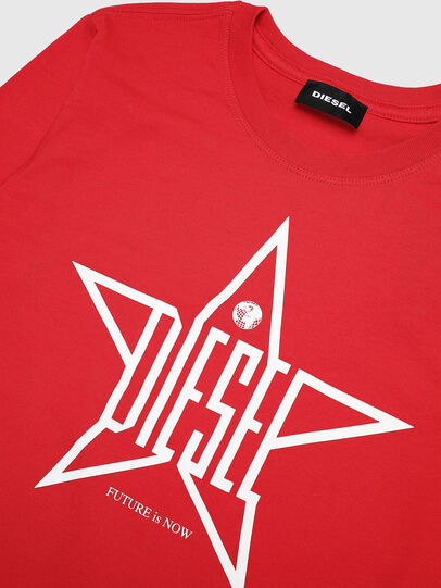 Diesel - TDIEGOYH-ML, Red - T-shirts and Tops - Image 3