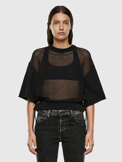 Diesel - M-ROSSI, Black - Knitwear - Image 5