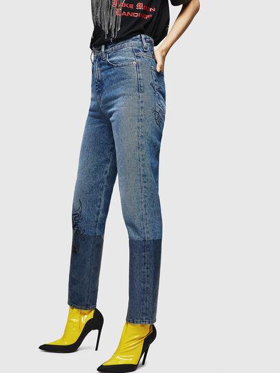 Diesel - D-Eiselle 0078T, Light Blue - Jeans - Image 3