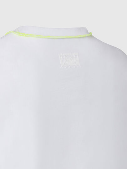 Diesel - T-JUSEAM, White - T-Shirts - Image 4