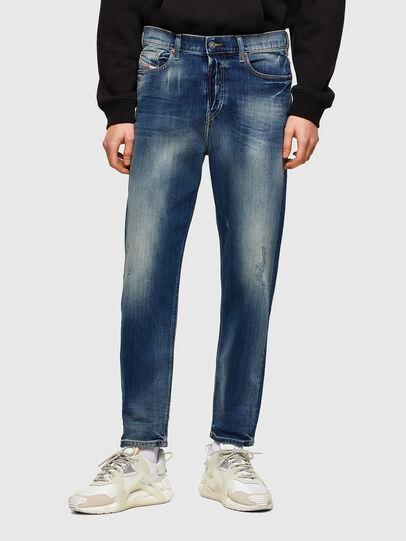 Diesel - D-Vider 009RS, Dark Blue - Jeans - Image 1