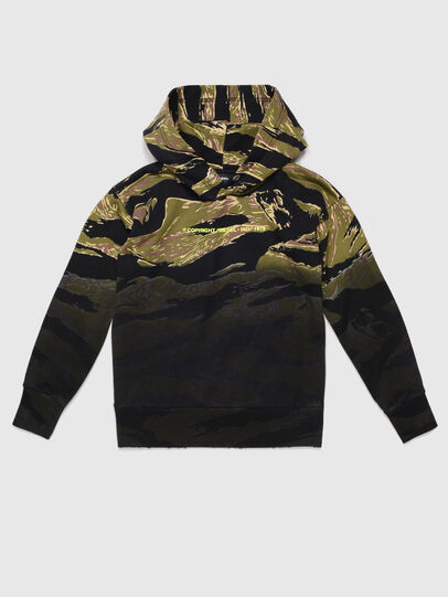 Diesel - SALBYTIGERCAM OVER, Military Green - Sweaters - Image 1