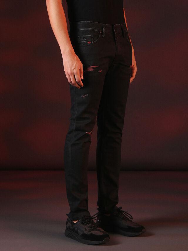 Diesel - THOMMER 084XX, Black - Jeans - Image 4
