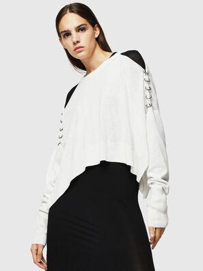 M-NETTY, White - Knitwear