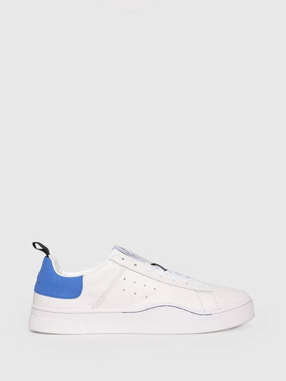 Diesel - S-CLEVER LOW, White/Blue - Sneakers - Image 1