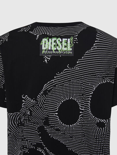Diesel - T-DARIA-E4, Black - T-Shirts - Image 3