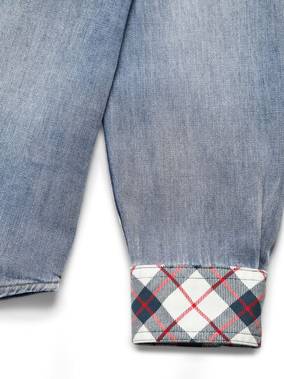 Diesel - D-DEEPCHECK-A, Light Blue - Denim Shirts - Image 4