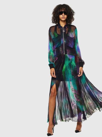 Diesel - D-RAH-A, Multicolor - Dresses - Image 1