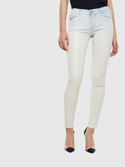 Diesel - Slandy 009AV, Light Blue - Jeans - Image 1